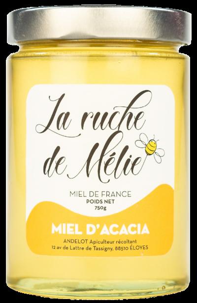 La Ruche De Mélie Produits Miel Acacia 750g 15